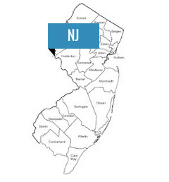 A map to compare electric rates in New Jersey