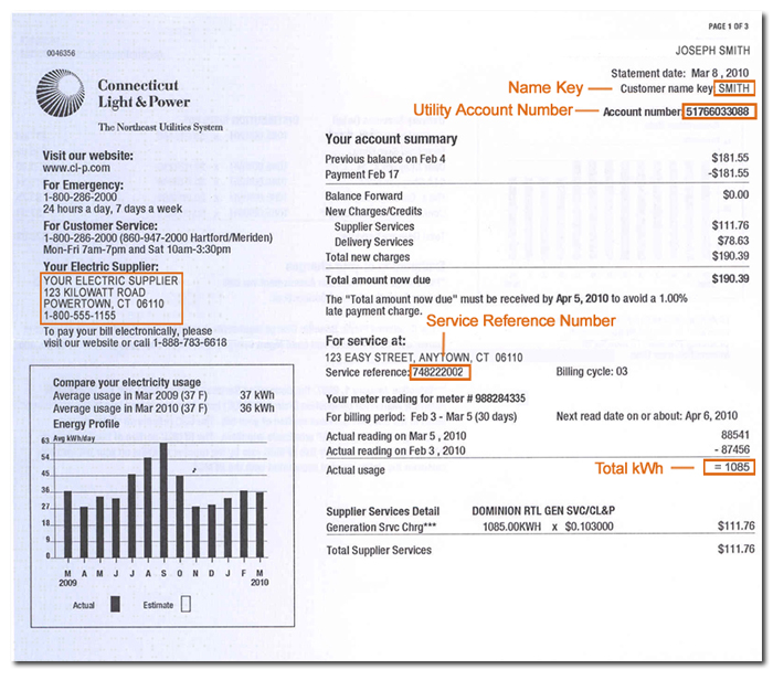 How To Read An Electric Amp Gas Bill Make The Switch Usa