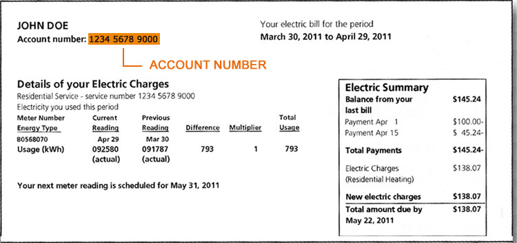 atlantic city electric sample bill
